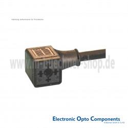 Omal Gerätestecker mit angespritztem Kabel