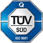 DIN ISO 9001 Zertifiziert